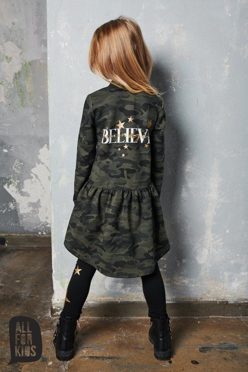 ALL FOR KIDS SHIRT BELIVE CAMOUFLAGE