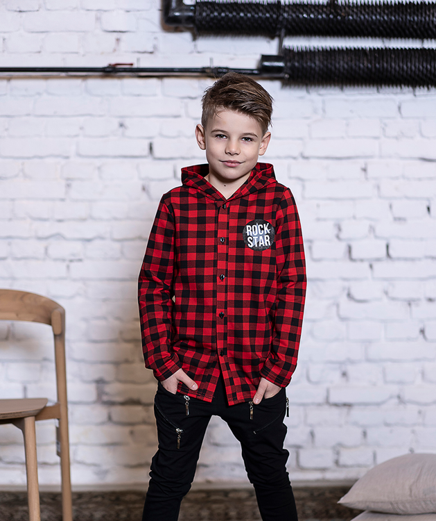ALL FOR KIDS SHIRT CHECKERED