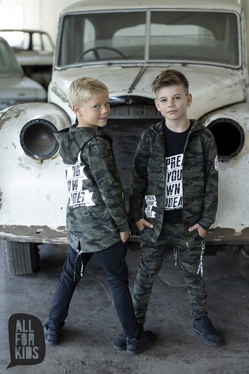 ALL FOR KIDS SWEATSHIRT CAMOUFLAGE
