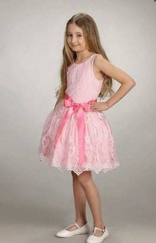 DRESS LACE TULLE