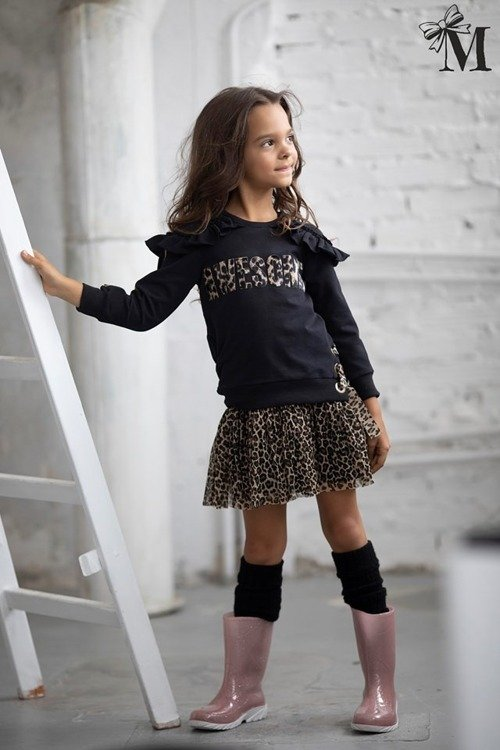 DRESS LEOPARD 2IN1