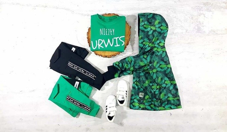 MIK BLOUSE URCHING GREEN